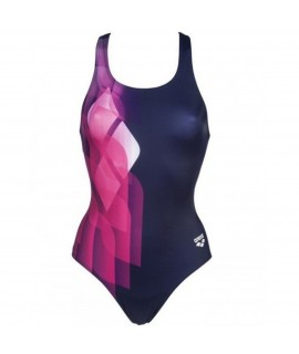 W MIRRORS SWIM PRO BACK ONE PIECE L